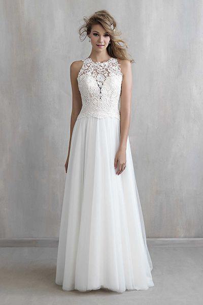 Свадебные платья-а силуэт