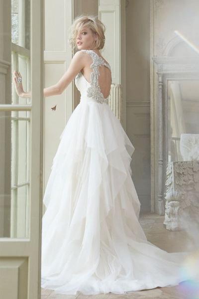 Платья с открытой спиной