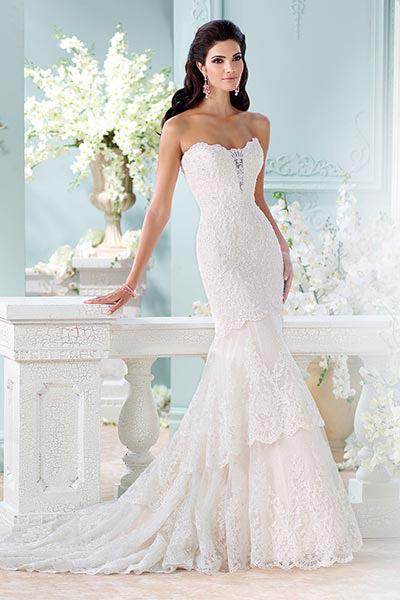 Фото свадебных платьев русалочка