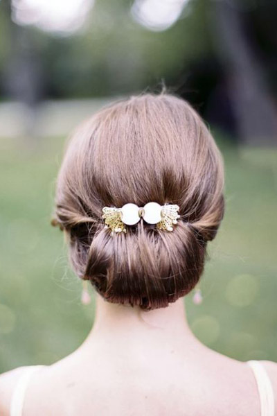 Прическа для свадьбы в спб