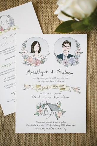Пригласительные на свадьбу 20