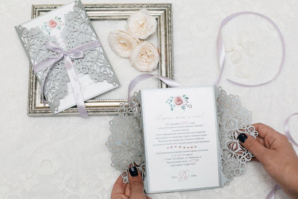 Свадебные приглашения на заказ спб