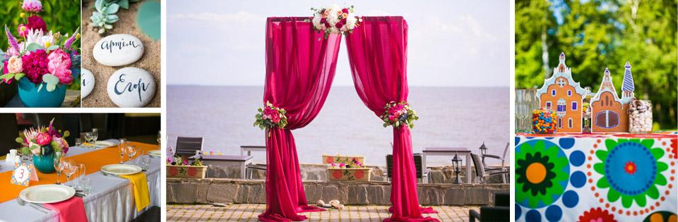 свадьба под ключ в ресторане панорама