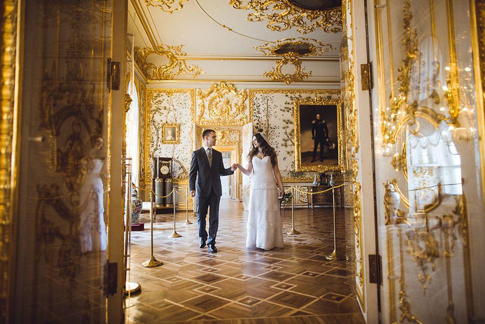 Свадебная фотосессия во дворцах спб