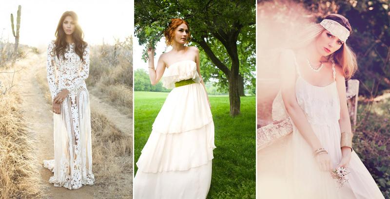 Фото платья невест в стиле