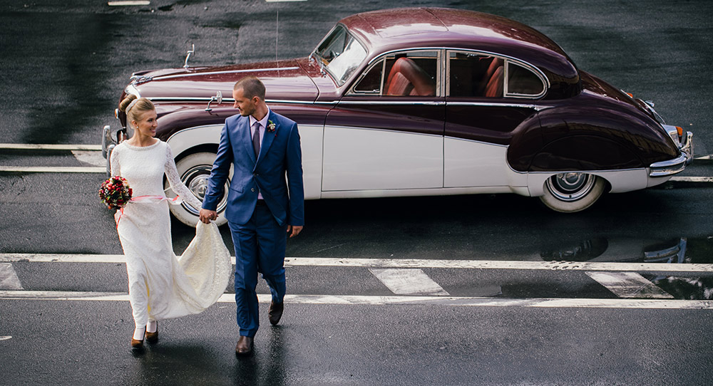 Ретроавто на свадьбу