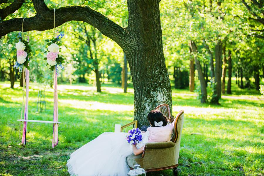 парк дубки свадебная фотосессия тонкие европейские