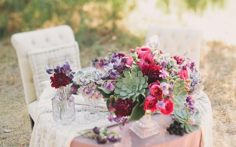 Цветочные композиции на свадьбу