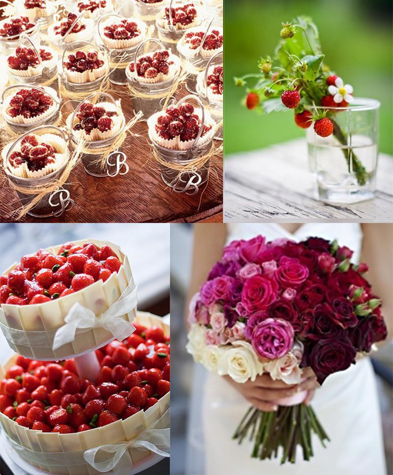 Оформление ягодная свадьба