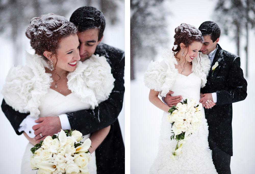 Картинки из свадьбы зимой