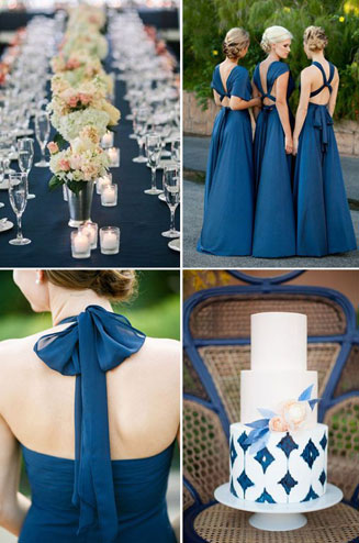 Модные цвета на свадьбе