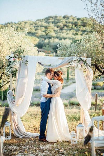 фото свадьба в стиле прованс