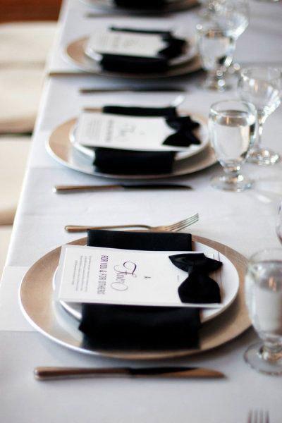 Свадьба черно-белая фото