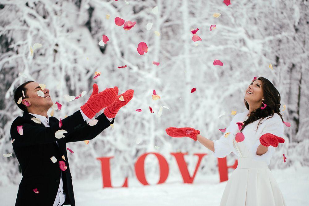 идеи для свадебной фотосессии зимой в москве новинки китае